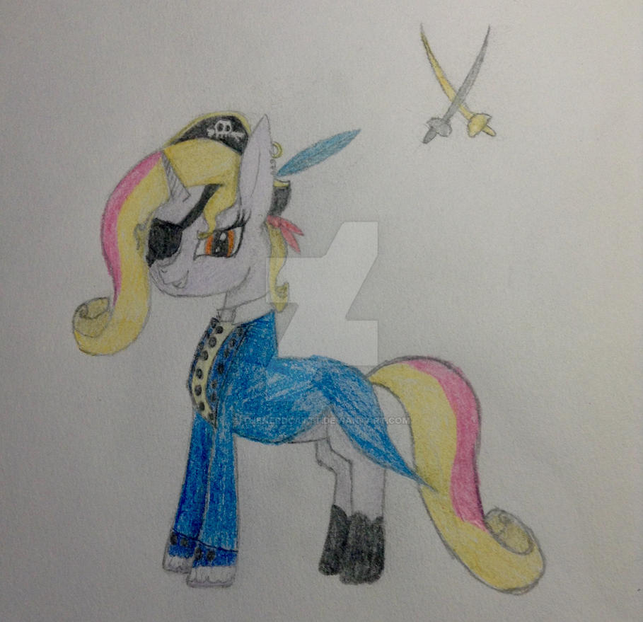 The Perfect PIRATE Pony by TheNerdCattt
