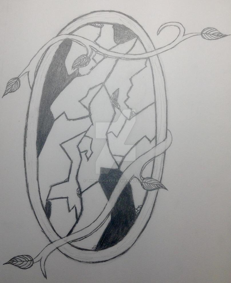 Broken Mirror (WIP) by TheNerdCattt