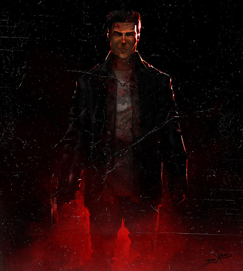 Jack Payne Wallpaper: Max Payne By Dukstheartist On DeviantArt