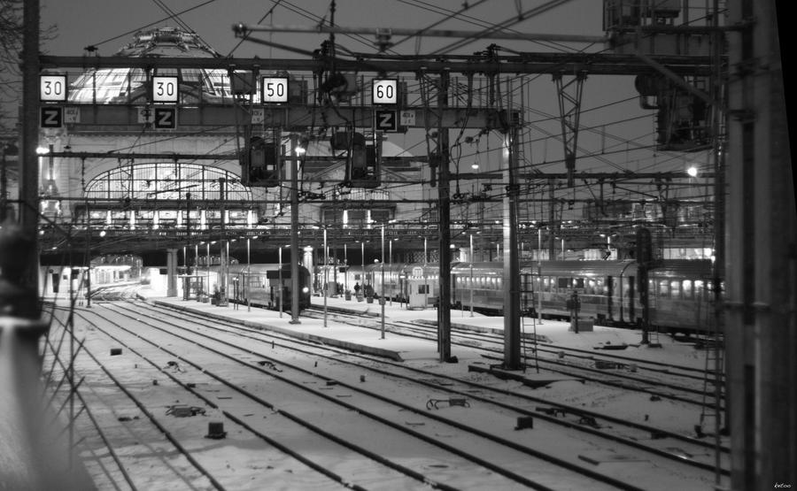 Gare de Limoges by ketoo
