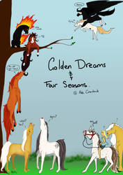 Joint cover for Golden Dreams and Four Seasons by TheForeverKnight