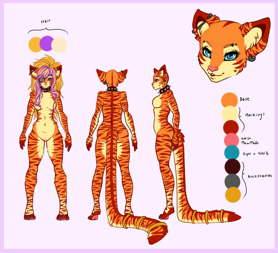 Tigress Adoptable Auction - OPEN by SodaButtles
