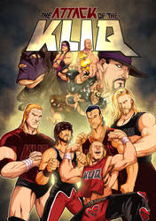 The Attack Of The Kliq by johnnieblaze92