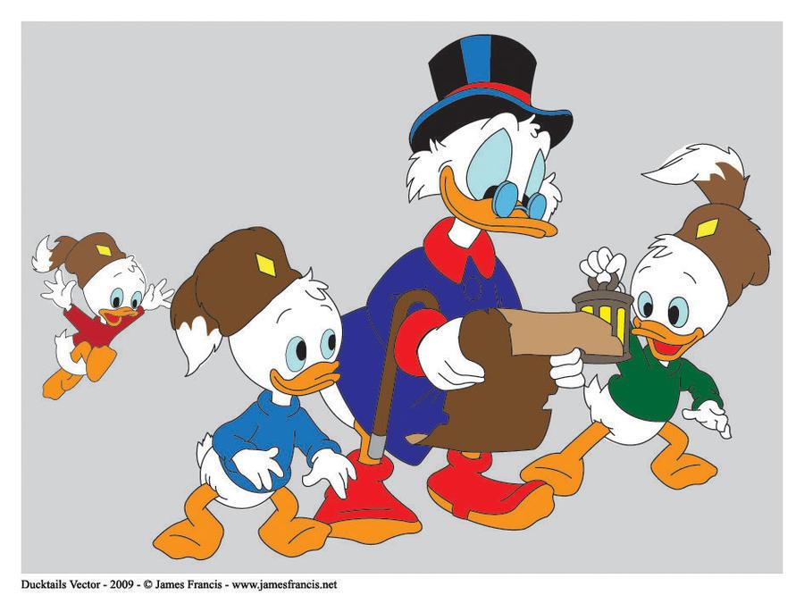 Ducktales Vector