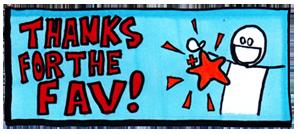 Thanks For The Fav by babylon-sticks