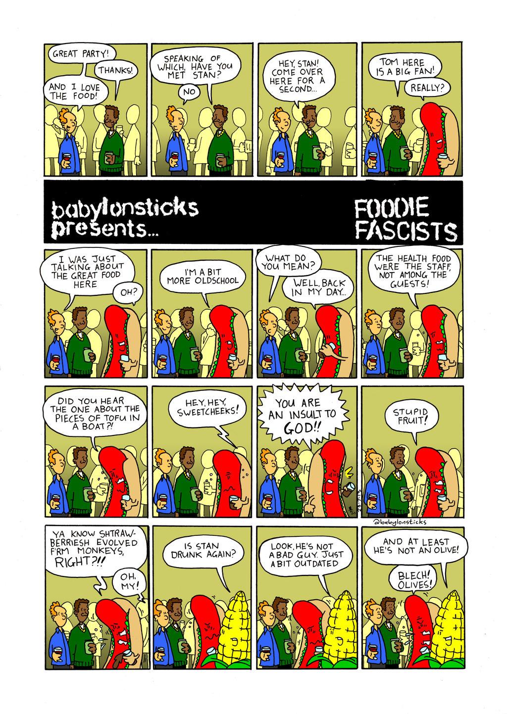 Foodie Fascists by babylon-sticks