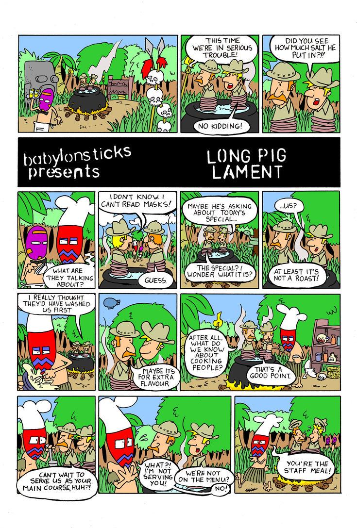 Long Pig Lament by babylon-sticks