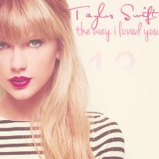 The Way I Loved You - Taylor Swift Album Cover by LakeOceanic on DeviantArt