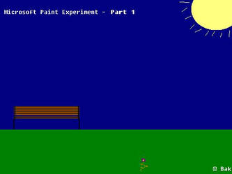 Microsoft Paint Experiment - 1