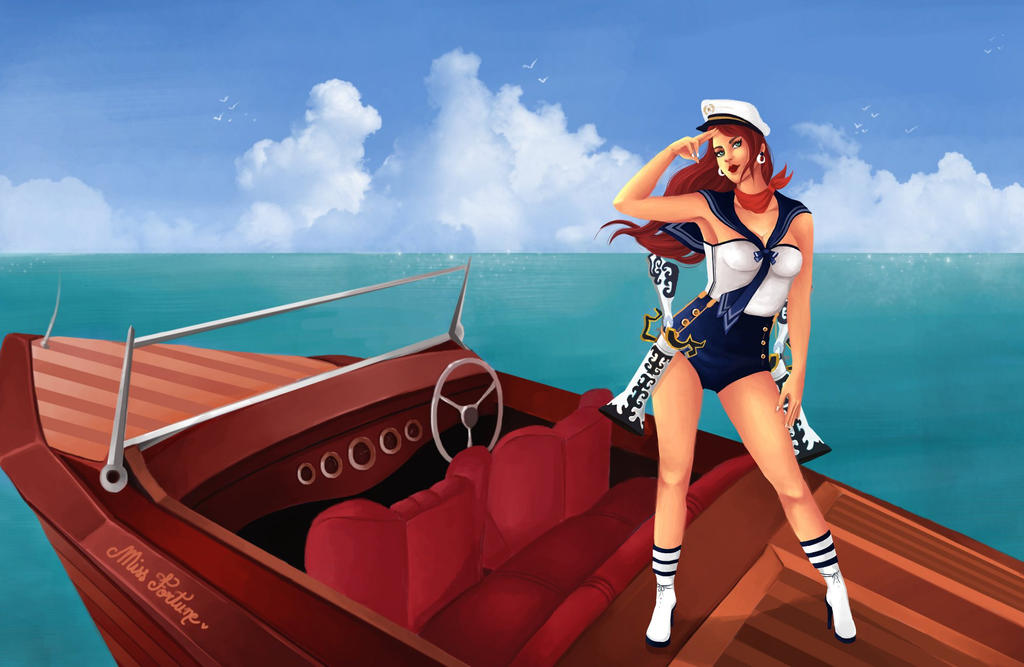 Sailor Miss Fortune by Haeaswen