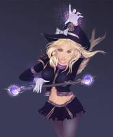 Sorceress Lux by Haeaswen
