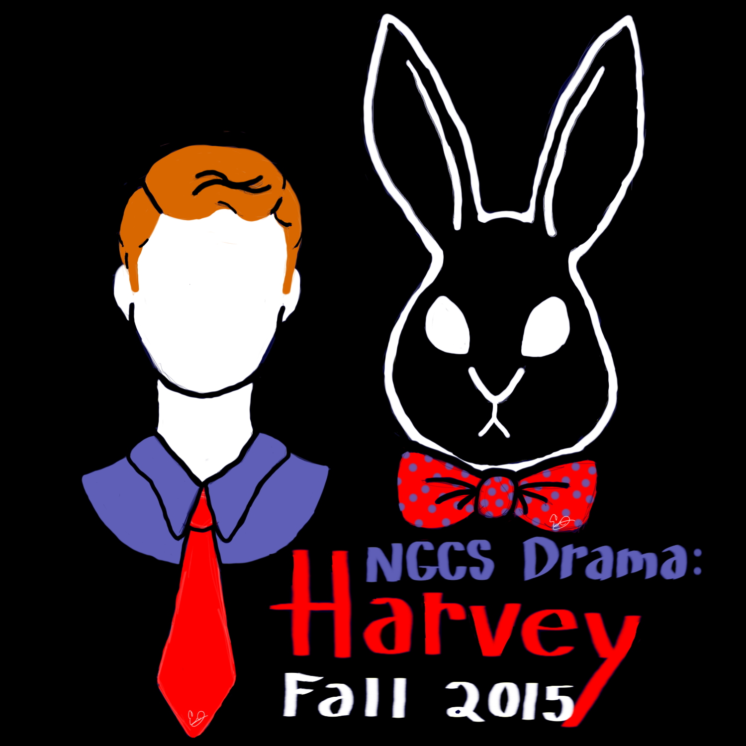 Harvey tshirt design by Jonesydragon