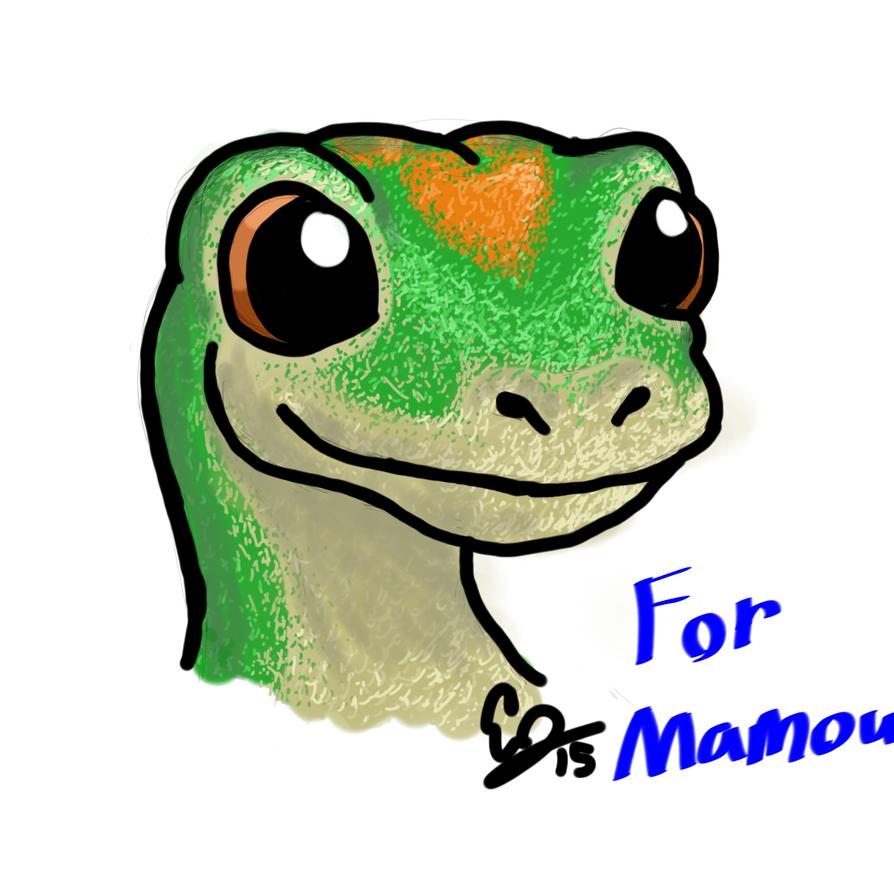 Geico Gecko by Jonesydragon