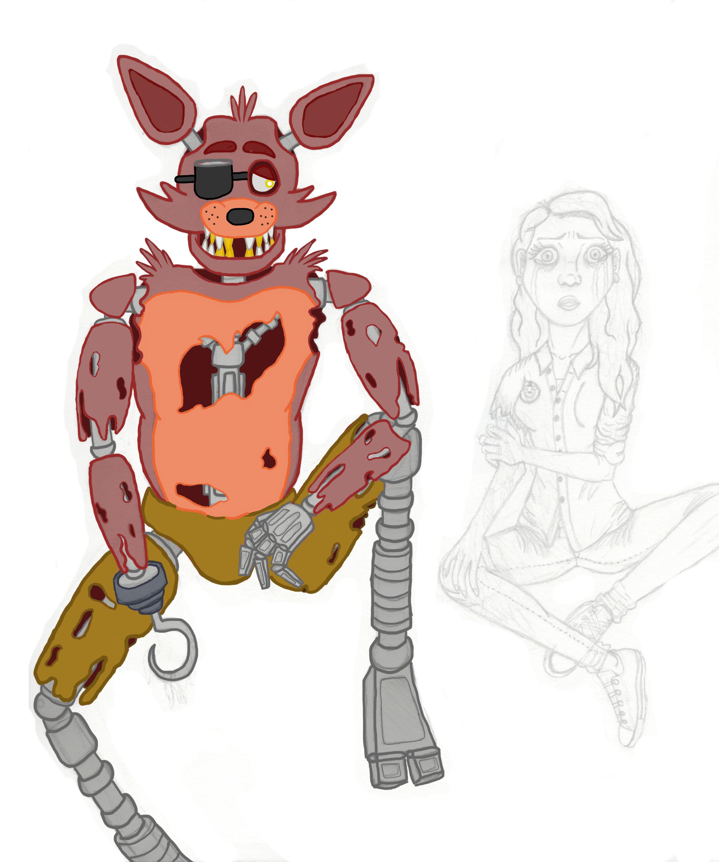I know I'm a wolf (Fnaf Foxy edition) [UNFINISHED] by Jonesydragon