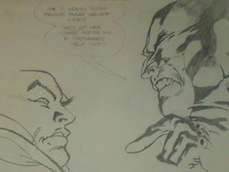 wolverine and Xavier