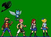 Fairy Tail sprite by GokudoZerotsuken