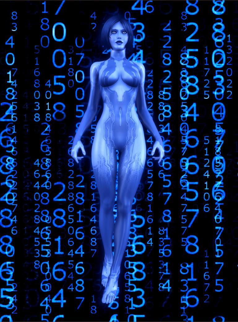 Cortana by elenaevil