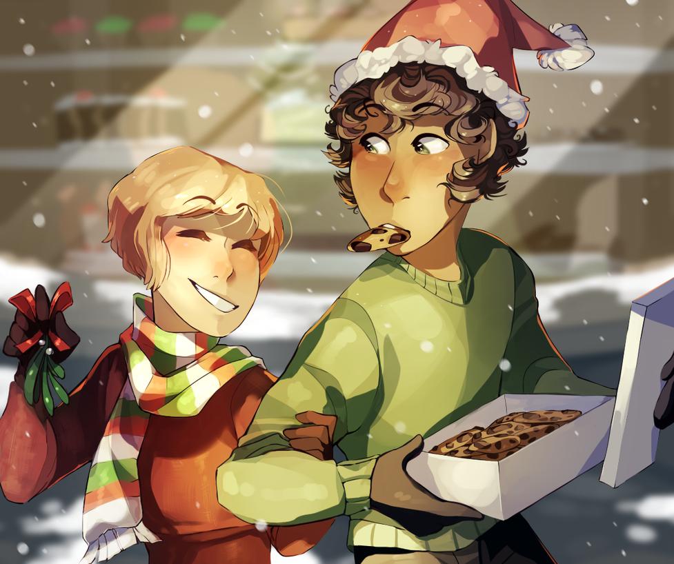 Christmas Gay Babies by EmpurrorMooks