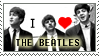 I love The Beatles STAMP