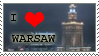 I love Warsaw STAMP by viosion