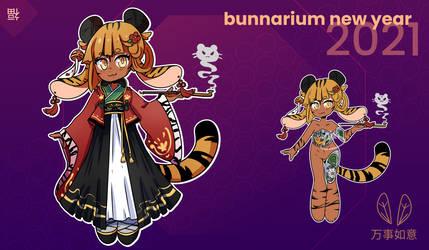 Bunnarium Lunar New Year GA Adopt | Tuger