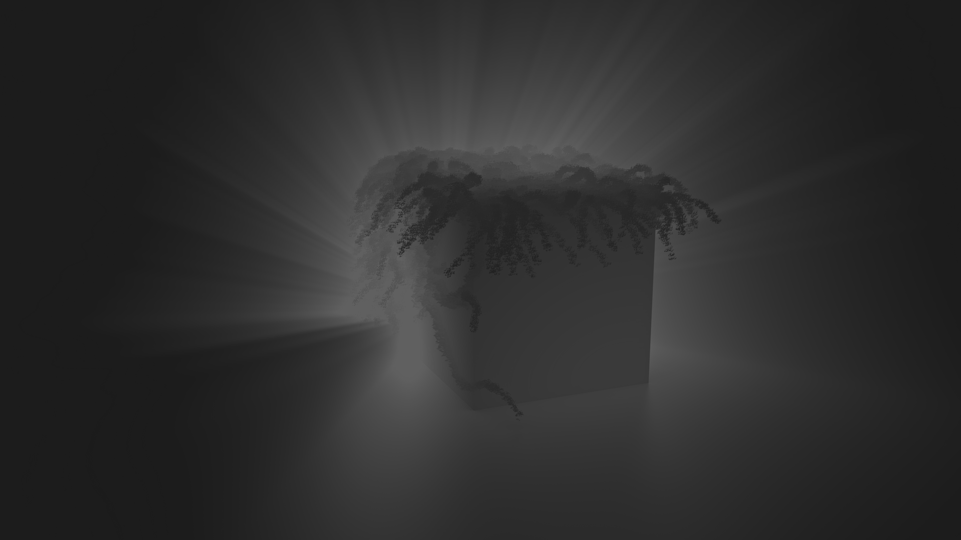 Messing around with Volumetric Light and Ivy's