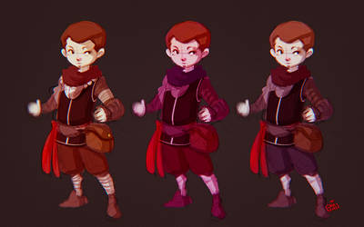 CHARACTER DESIGN AND COLOR