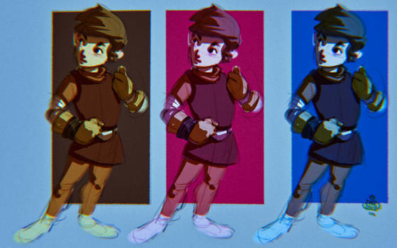 CHARACTER DESIGN AND COLOR 2