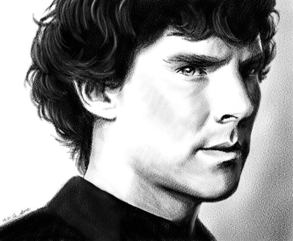 Sherlock by ame-natsuno