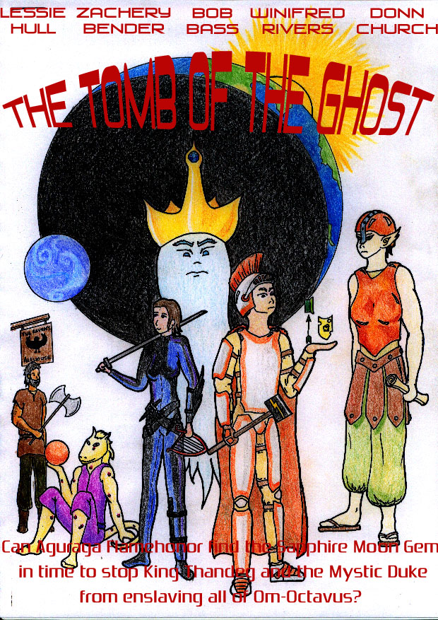The Tomb of the Ghost by Mygrum