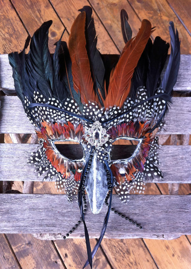 Olorun African Swallow Mask by DaraGallery