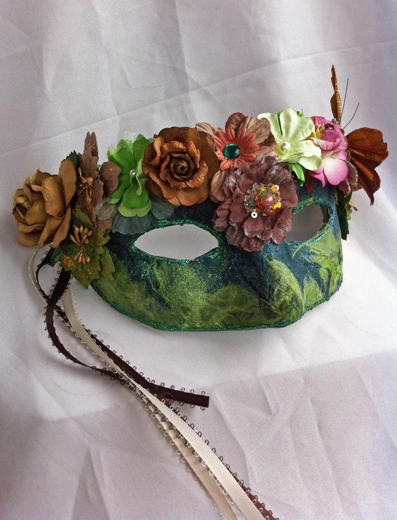 Blodyn Paper Mache Mask By Daragallery On Deviantart