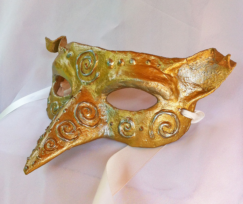 Spiral Imp Mask by Dara Trahan by DaraGallery