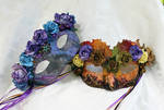 Mulberry Goddesses Masquerade Masks