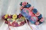 Spring Flowers Masquerade Masks