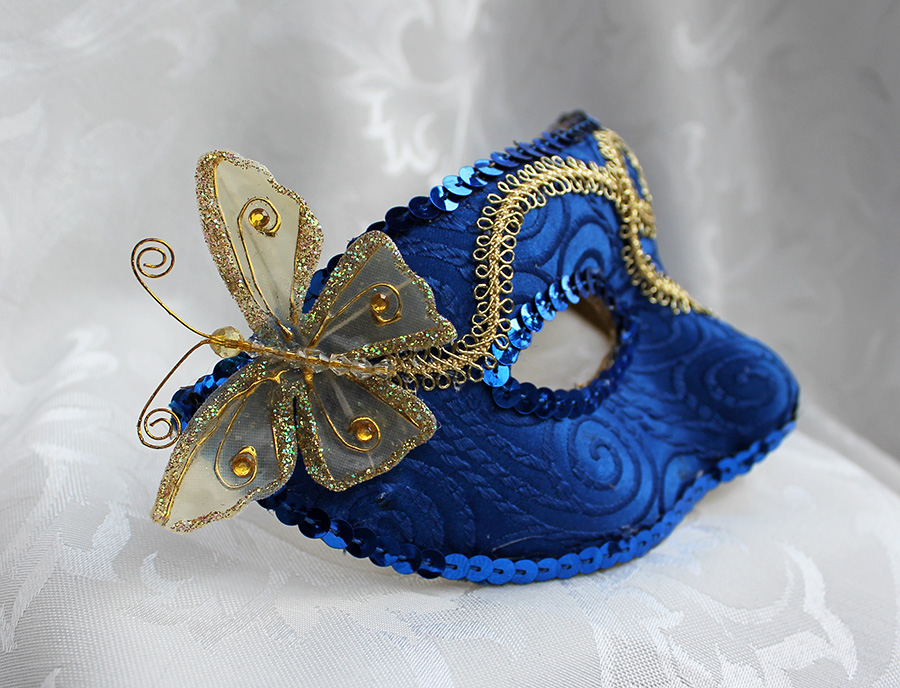 Butterfly and Royal Blue by DaraGallery