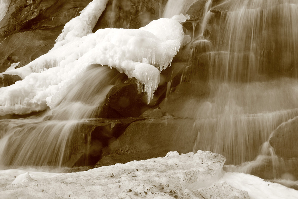 Waterfall Ice Blur 3 by DaraGallery