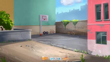 Rafadan Tayfa _ Basketball Area by omerayar