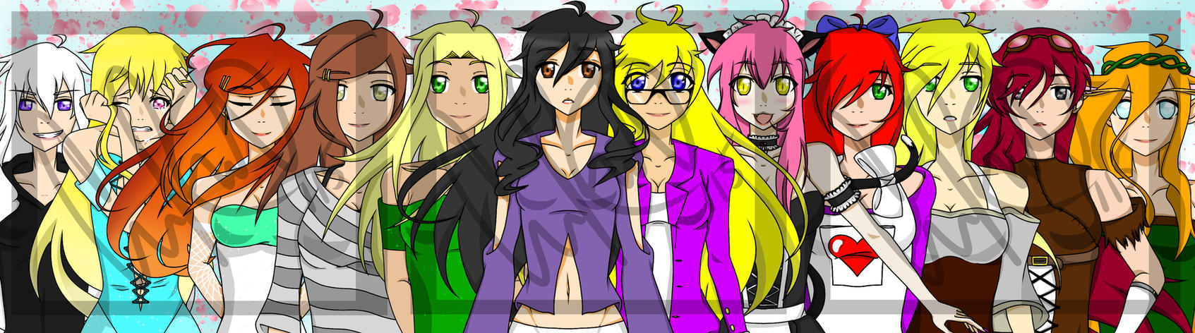 The Ladies of Minecraft Diaries by Symarin on DeviantArt for All Minecraft Characters  59dqh