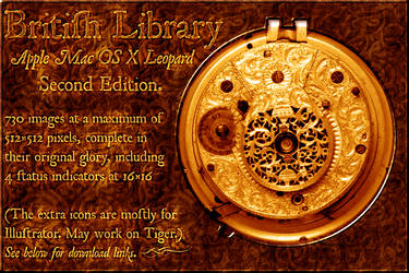 Library Icons 2nd Ed. Leopard. by Samantha-Wright