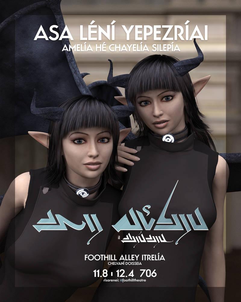 Amelia he Chayelia - Nui Ahekia il Finania by Samantha-Wright