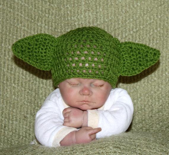 Yoda Beanie by indie-bo-beanies