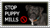 Puppy mills stamp by ILTBY