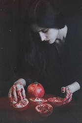 Pomegranate sadness II by MariaPetrova