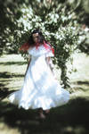 Dancing in a dream in the apple orchard...
