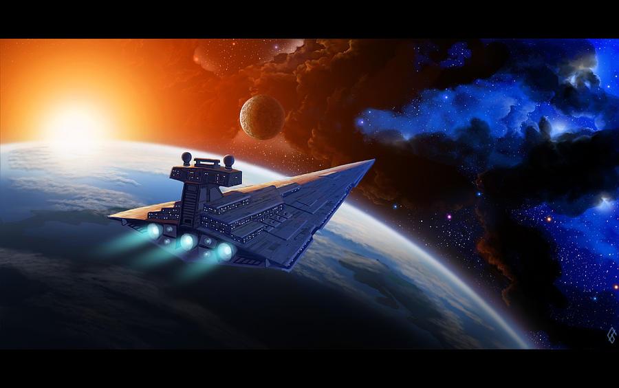 Imperial Star Destroyer by Foks-IB