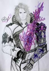 Ravus  ( Final Fantasy XV) by Alina-Vasilyeva-97