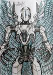 Iron Angel doom eternal Samuel Hayden