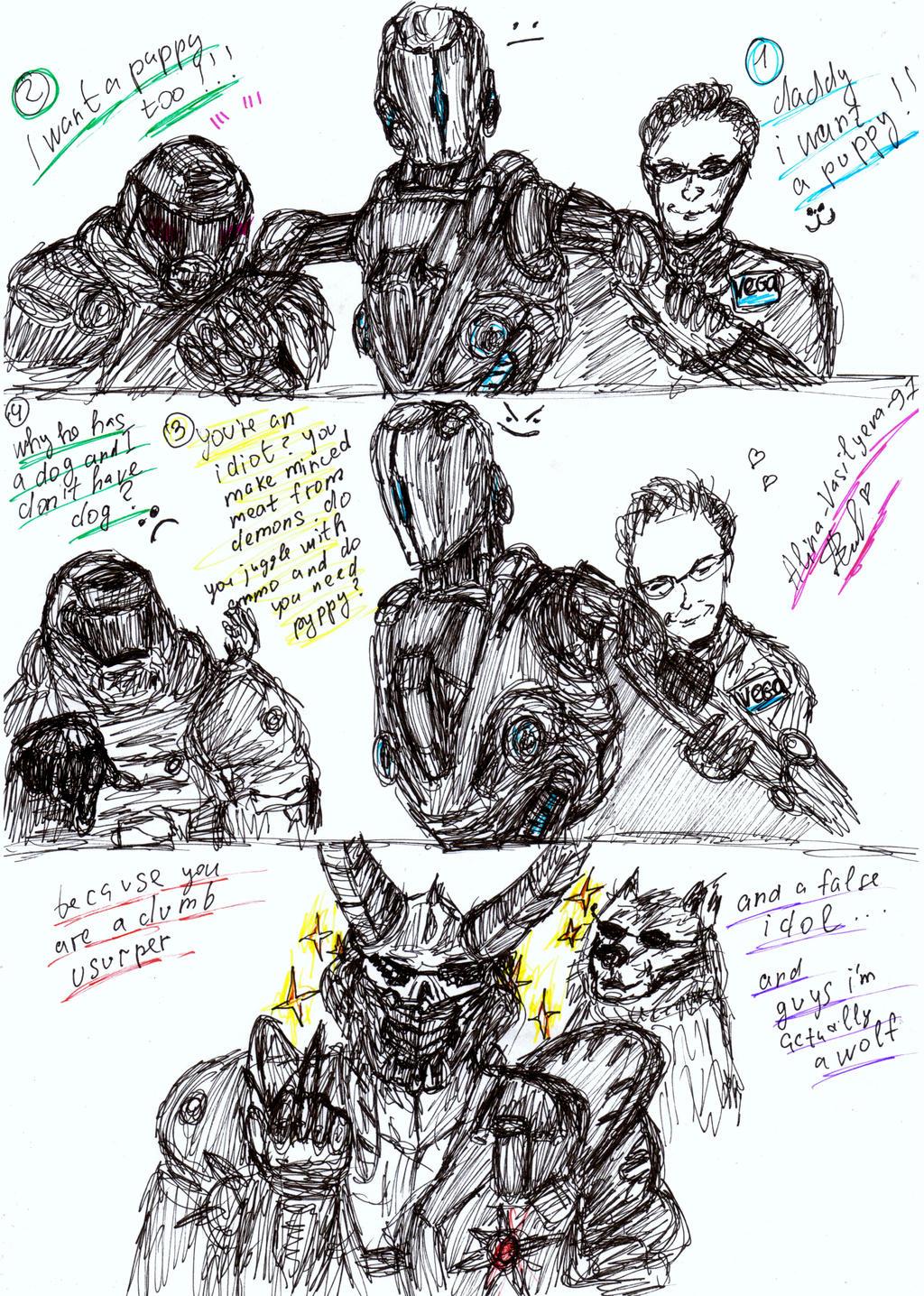 Doom Eternal Meme 2 By Alina Vasilyeva 97 On Deviantart