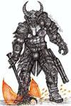Doom eternal marauder by Alina-Vasilyeva-97